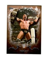 WWE Triple H #35 2016 Topps Undisputed Bronze Parallel Card SN 36 of 99