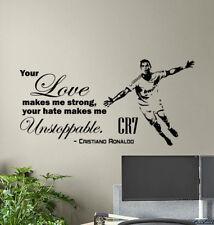 Self Adhesive Football Stadium Match Soccer Wall Sticker Poster M12-546