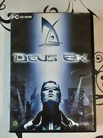 Retro/2000 PC Win95/98 CD-ROM Big Box game: Deus Ex (Eidos) - Good condition