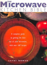 MICROWAVE KITCHEN BIBLE Recipes Cookbook Cook Book