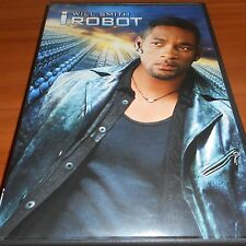 I, Robot (DVD, 2004, Widescreen) Will Smith, Donald Faison Used