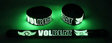 VOLBEAT NEW! Glow in the Dark Rubber Bracelet Wristband Heaven Nor Hell gg144
