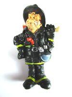 Feuerwehrmann Magnet Funny Job Beruf,Polyresin Fridge,7cm,Neu