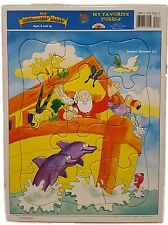 Noahs Ark Bible Animals Kid's Christian Jigsaw Puzzle Ages 3+ NEW 12 pc Jigsaw