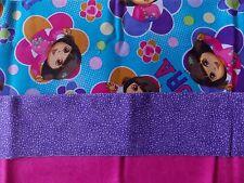 Totally Dora Pillowcase Floral Badges Fabric Pillowcase Kit Premium Cotton