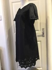 """""""JAEGER LONDON"""": 🐝OOTIFUL, EMBROIDERED,BLACK DRESS : Size 16 : ( BNWith Tags)"""