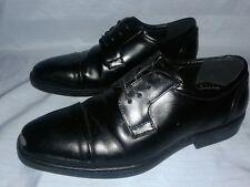 Mens Dress Shoes  VanHeusen Hank  size 8.5 M  Black