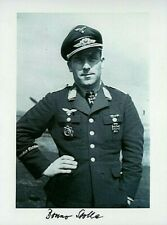 WW2 LUFTWAFFE FIGHTER ACE BRUNO STOLLE KNIGHTS CROSS DKiG FFCiG BRITAIN FRANCE S