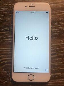 Apple iPhone 6s - 32GB - Rose Gold (Unlocked) A1688 (CDMA + GSM) (CA)