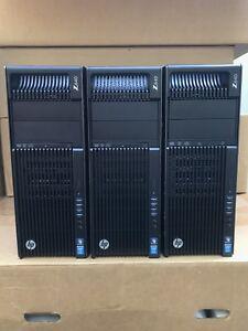 HP Z640 Workstation Xeon E5-2697V4 128GB DDR4 1.6TB 256GB SSD 8TB HDD W7Pro K620