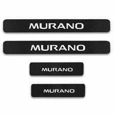 For Nissan Murano Whtie Sticker Car Door Sill Door Entry Guard Protectors 4pc