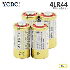 4Pcs 6V 4LR44 Alkaline Battery 4G13 L1325 For Car Remote Dog Training Collar AF