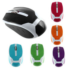 2.4G 1200DPI Cute Candy Color Optical Mini Wireless Mouse Mice For Laptop PC Hot
