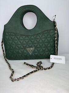 GUESS Women's Medium Green Hand Bag Crossbody Bag  NEW