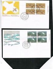 CANADA 1980 2 ENDANGERED SPECIES**  on FDC cat $4. #853-54 BOX 515