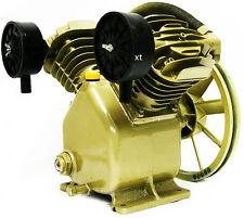 5HP 17.5 CFM 145 PSI Dual Cylinder HD Air Compressor Pump Automotive Business