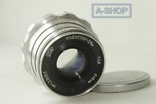 INDUSTAR-26M ( RED P ) 2.8/52 mm Leica lens M39 Zorki FED RF