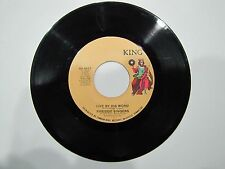 FIRESIDE SINGERS 45 RPM Live By His Word / Run On KING 6417 RARE GOSPEL SOUL