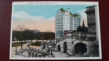 Postcard Capitol Approach Albany New York USA Old 1925 Postcard