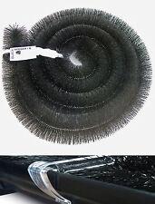Original Hedgehog Gutter Brush Guard Black 100mm x 4m Length c/w 3 Gutter Clips