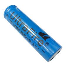 3.7V 18650 3800mah Li-ion Rechargeable Battery For UltraFire Flashlight Torch