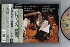 STRAWBS-RICK WAKEMAN-YES Just a..Antiques & Curios JAPAN 1st CD w/OBI D32Y-3524