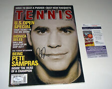 Pete Sampras Signed Sept 2000 Tennis Magazine JSA CERT PROOF FREE SHIPPING