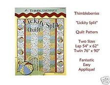 FUN! Thimbleberries LICKITY SPLIT Quilt Pattern