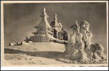 Beskiden BeskydyTschechien Postkarte 1946 Kapelle an der Radhoscht Radhošť
