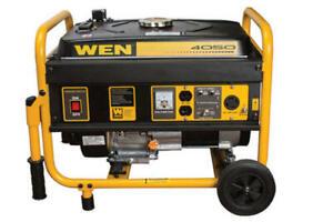 WEN 56400 4000 Watt Peak, 3500 Watt Running Portable Generator New In Sealed Box
