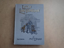 LITTLE LORD FAUNLEROY. ILLUSTRATED