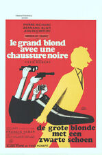 Le GRAND BLOND Belgian movie poster PIERRE RICHARD MIREILLE DARC 1973 NM