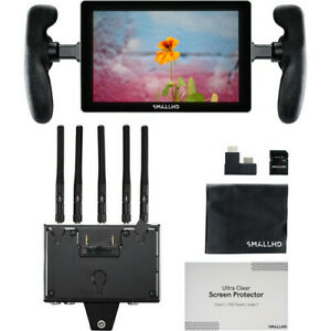 New SmallHD INDIE 7 On-Camera Monitor Bolt 4K Wireless Receiver (Gold Mount)