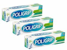Poligrip Ultra Denture Fixative Cream 40g - 3 Packs