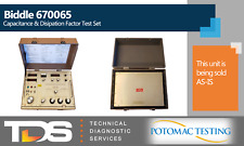 [USED] Biddle 670065 Capacitance and Dissipation Factor Test Set (AS-IS)