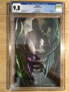 Alien #1 CGC 9.8 Greg Horn Variant Cover B Virgin Marvel 616 Comics LTD 1000