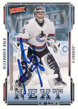 ALEXANDER AULD CANUCKS AUTOGRAPH AUTO 06-07 UD VICTORY NEXT IN LINE #NL47 *10868
