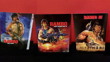 RAMBO 1 2 3 I II III TRILOGY 3D Lenticular Magnet Cover for BLURAY STEELBOOK