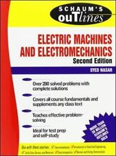 Schaum's Outline Electric Machines & Electromechanics (Paperback or Softback)
