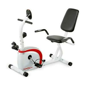 Recumbent Exercise Bike with Magnetic Resistance and Pulse Sensor NS-908R