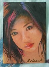 ASIAN SEXY ACEO SKETCH CARD PSC
