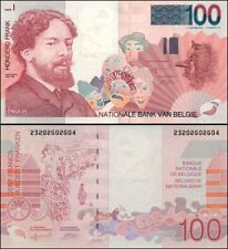 Belgium Mint 1997 100 Francs Last Pre EURO Dollars Paper Banknote Issue p147