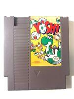 YOSHI ORIGINAL NINTENDO NES GAME Tested WORKING Authentic