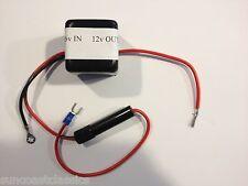 Radio Converter 6v to 12v Negative Ground