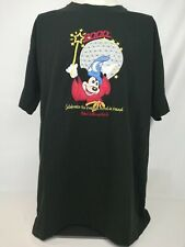 DISNEY WORLD 2000 Celebrate the Future Embroidered T ADULT Mickey EPCOT SIZE L