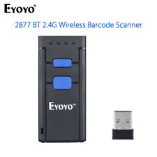 Handy Wireless Bluetooth Laser Barcode Scanner Reader for Apple Android Win