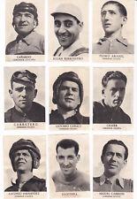 22 Cromos CICLISTAS ( Album Fotos Deportivas FHER 1942 )