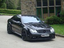 Mercedes CLK Black Series Full Body Kit for Mercedes CLK C209