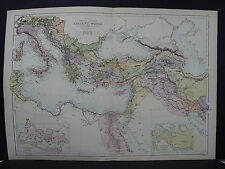 Black's 1876 Atlas, Map, The Ancient World M2#25