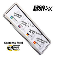 Saab 9-5 Race Sport Stainless Steel Number Plate Surround